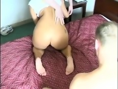 Big booty MILF triple fuck