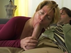 Penny Sue is a mature lady who cannot say no to a big cock