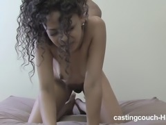 Carrie with black butt getting screwed hardcore doggystyle