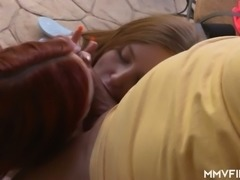 MFF threesome is the way sweetie called Kattie Gold gains delight