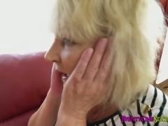 Granny Licks Teen Lesbian Pussy