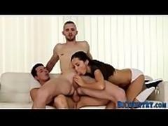 Bisexual 3way stud spunks