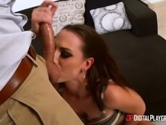 Aidra Fox is an insatiable slut in need of a man's erected dick