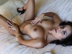 Abby Lee Brazil chokes on a handsome stud's huge boner