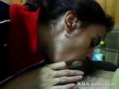 Getting sucked by an ugly old hag