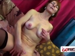 Hot cutie gets to ride fat cock