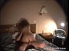 Horny guys and a slut in hardcore DP action