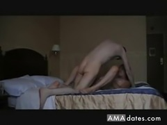 Mature teacher has sex with student in the hotel room