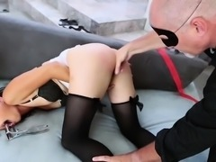 Ass insertions and rough anal for asian babe
