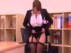 Secretary Hitomi gets fucked 2