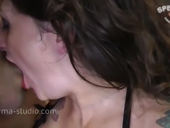 Cum Orgy - Adreena Winters - Sperma-Studio
