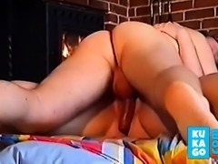 Danish wife fucks friend while husbond is away