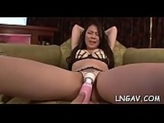 Concupiscent mother i&#039_d like to fuck enjoys stretching and fingering her hairy wet cunt