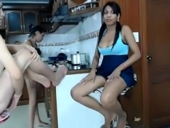 Spanking my sexy arse on webcam