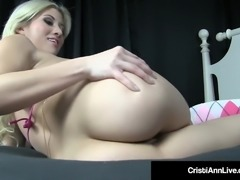 Asian Latina Cristi Ann Shakes Her Nude Phat Booty In Bed!