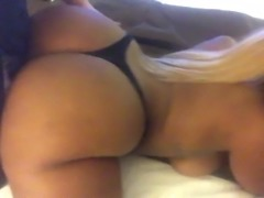thong and ass humping. panty fetish