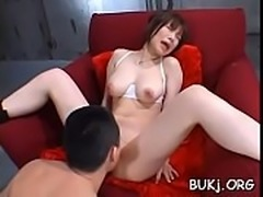 Japan hottie gets many dongs to satisfy her need for bukkake