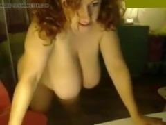 BBW Huge Tits in Webcam
