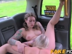 Pussy loving taxi MILF goes wild with her juicy client