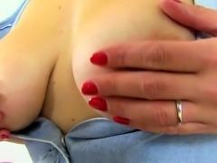 English mum Lily Milf puts her dildo to work