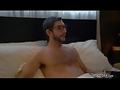 You can start by sucking your stepbrothers cock