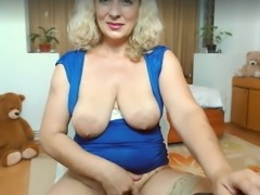 Webcam saggy tits mature