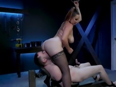 New male dom submits to Goddess Bella Rossi