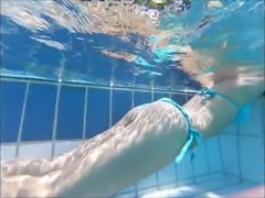 very cute french butt at pool perfection
