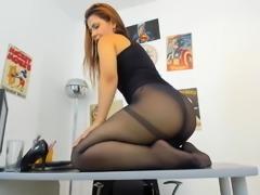 Shaking Ass on Office Desk