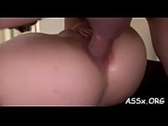 Cute oriental receives lusty shaving before deep ass fucking