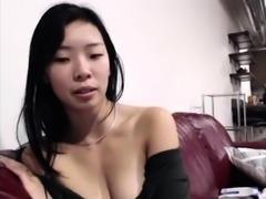 Public softcore Korean oral cam
