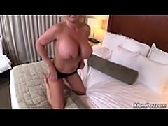Oiled Up Blonde MOM POV Big Tit Slut Ass Fucking Extravaganza