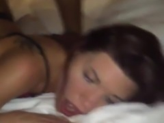 Gorgeous young wife slammed by her BBC part2