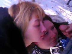 Russian hooker facial 10