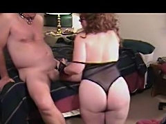 DOMINANT CHUBBY NERD COLLARS AND COCKSTRAPS NAKED MAN
