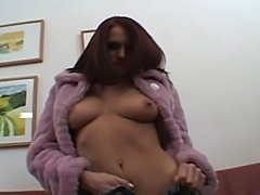 Christine in very hard gang bang dp