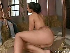 Liza Del Sierra get banged by 2 workers