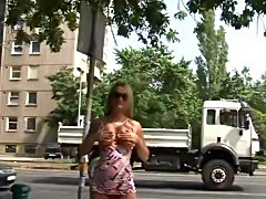 hungarian teens pissing in public