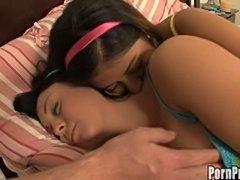 Two sleeping sluts get fucked hard!
