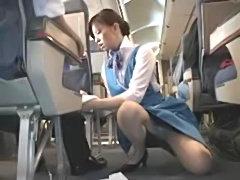Flight attendants sex service on plane