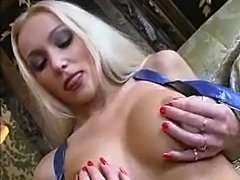 Naughty Tiffany gets disciplined be a gorgeous blonde.