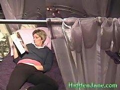 Hidden cam Babs mag wank in pantys - xHamster.com