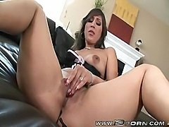 Fucking Brunette Slut In Sexy Corset Alexis Breeze