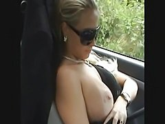 Sperm everywhere in the car - xHamster.com