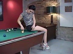 Famous Austrian pornstar Renee Pornero fucked in the ass on pooltable p.s.: please visit my website