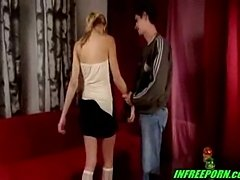 Pretty Blonde Teen Fuck Her Boyfriend