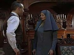 nun is at it again with an obliging suitor