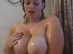 Big Boobies In Shower