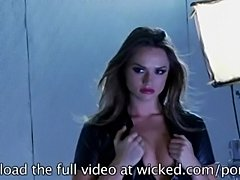 Tori Black's wet pussy is about to get pounded by a hard cock