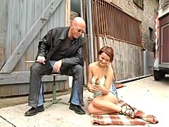 German porn star Maria Mia fucks a biker in the movie Rocker Queens.